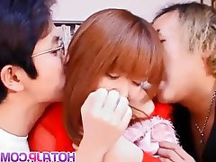 Asian, Blowjob, Group Sex, Japanese, Threesome