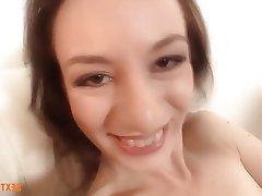 Brunette, Casting, German, Interracial, Masturbation