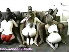 Cuckold, Gangbang, Group Sex, Interracial, MILF