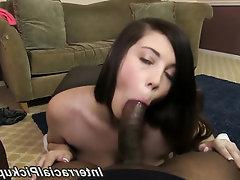 Babe, Big Tits, Cumshot, Ebony, Panties