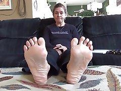 Amateur, Foot Fetish, Mature, MILF