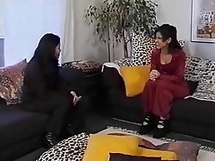 Asian, Lesbian, Group Sex, Threesome