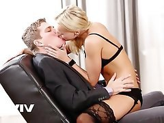 Blonde, Hardcore, Czech, Kissing