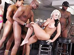Interracial, Gangbang, Mature, Big Cock, Big Black Cock