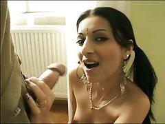 Blowjob, Facial, Indian, Masturbation