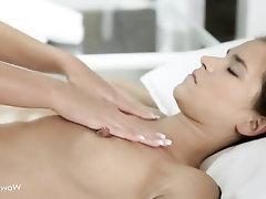 Big Tits, Lesbian, Massage, Masturbation, Babe