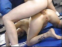 Anal, Blowjob, Double Penetration, Facial, Threesome