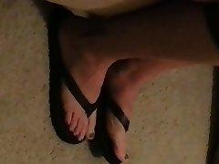 Amateur, Mature, Foot Fetish, Mature