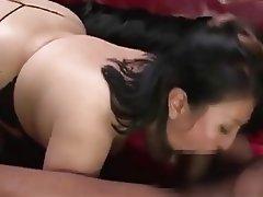 Asian, BBW, Hardcore, Threesome