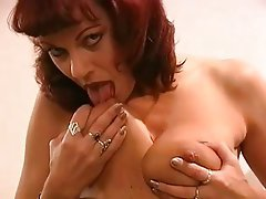 Big Boobs, Masturbation, Mature, Nipples, Redhead