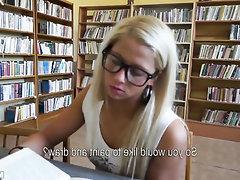Babe, Glasses, Teen, Public