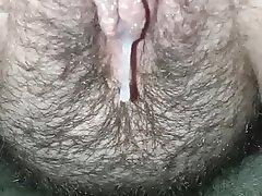 BBW, Close Up, Creampie, Cumshot, Hairy