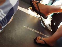 Foot Fetish, MILF, Close Up