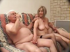 Femdom, Blowjob, French, Threesome